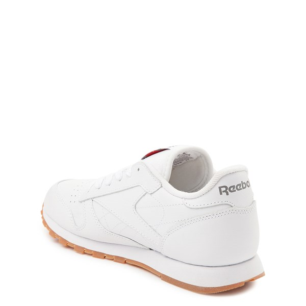 alternate view Womens Reebok Classic Athletic Shoe - White / GumALT2