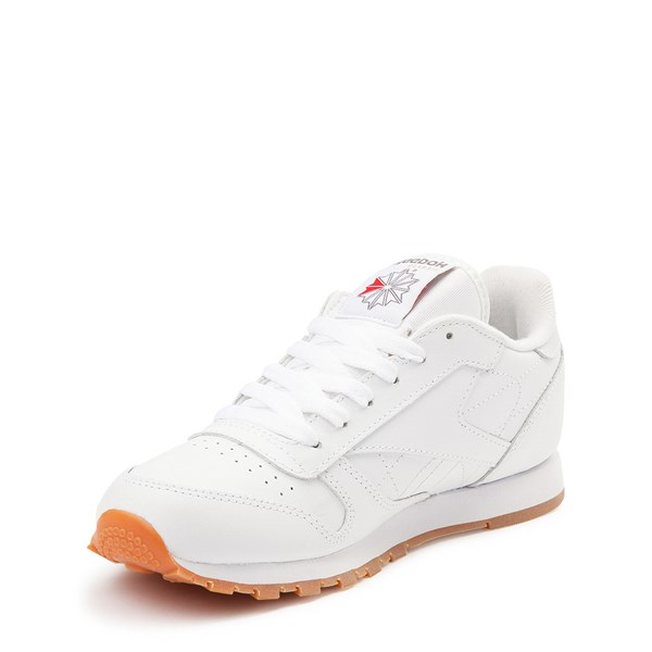 alternate view Womens Reebok Classic Athletic Shoe - White / GumALT3
