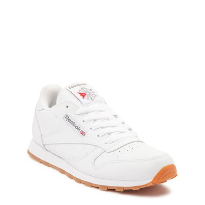 Alternate view of Womens Reebok Classic Athletic Shoe - White / Gum
