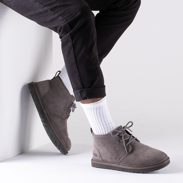 alternate view Mens UGG® Neumel Casual Shoe - GrayB-LIFESTYLE1