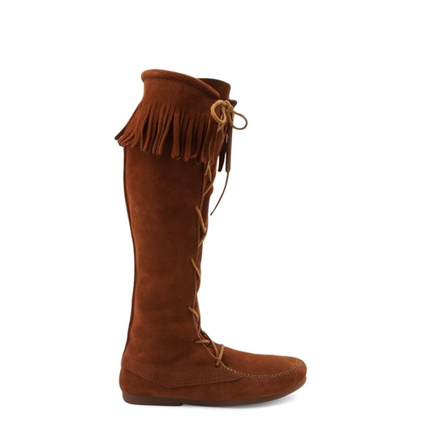 Default view of Mens Minnetonka Front Lace Knee High Boot