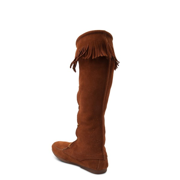 alternate view Mens Minnetonka Front Lace Knee High BootALT2