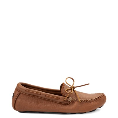Main view of Mens Minnetonka Moosehide Driver Casual Shoe - Natural