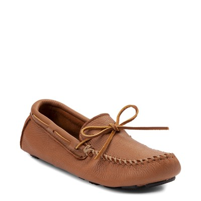 Alternate view of Mens Minnetonka Moosehide Driver Casual Shoe