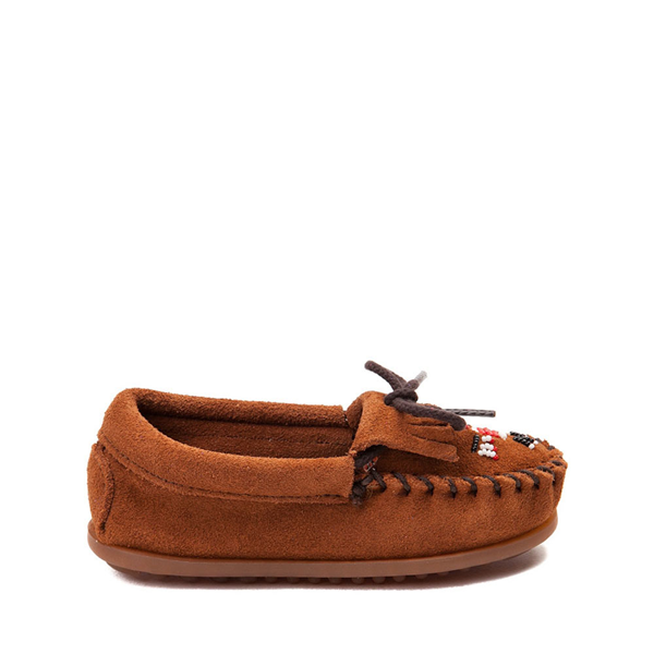 Minnetonka Thunderbird II Casual Shoe - Little Kid - Brown