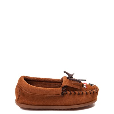 Main view of Minnetonka Thunderbird II Casual Shoe - Little Kid - Brown