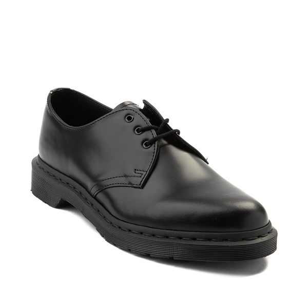 alternate view Dr. Martens 1461 Casual Shoe - Black MonochromeALT5