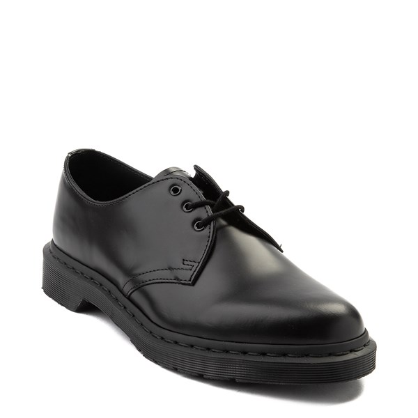 alternate view Dr. Martens 1461 Mono Casual Shoe - BlackALT1