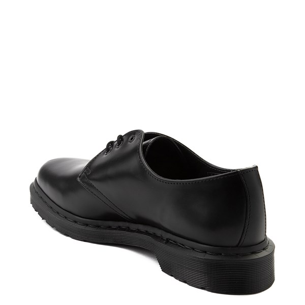alternate view Dr. Martens 1461 Casual Shoe - Black MonochromeALT2