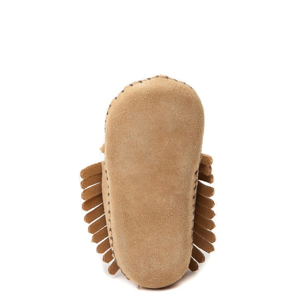 alternate view Minnetonka Fringe Bootie - Baby / Toddler - TanALT5