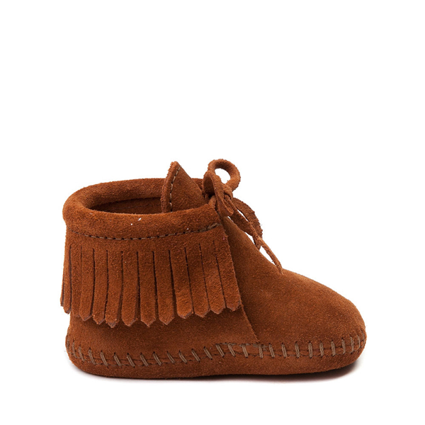 Minnetonka Fringe Bootie - Baby / Toddler - Brown