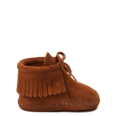 Main view of Minnetonka Fringe Bootie - Baby / Toddler - Brown