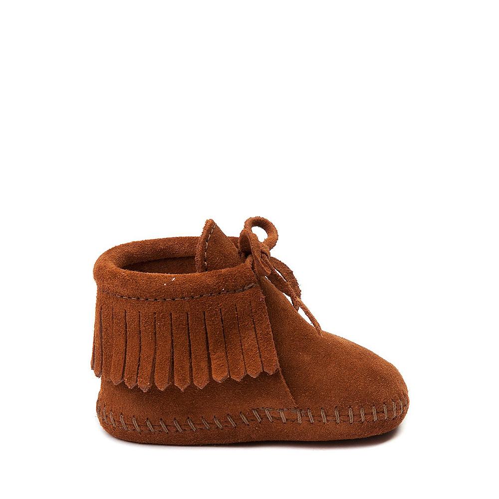 Minnetonka Fringe Bootie - Baby / Toddler - Brown