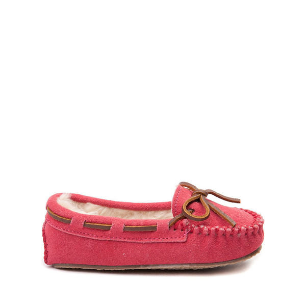 Main view of Minnetonka Cassie Moccasin - Little Kid - Pink