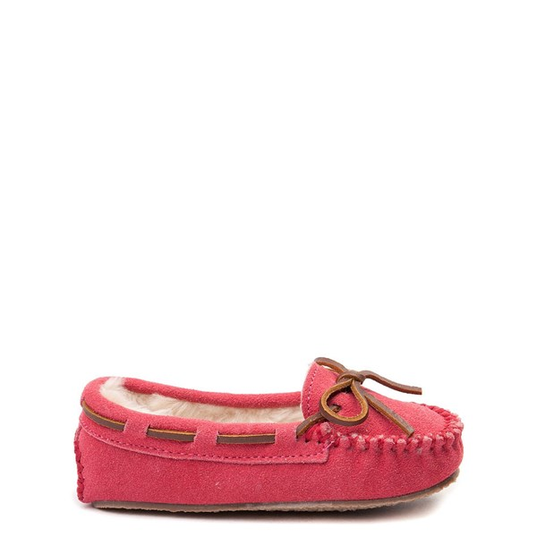 Minnetonka Cassie Moccasin - Little Kid - Pink