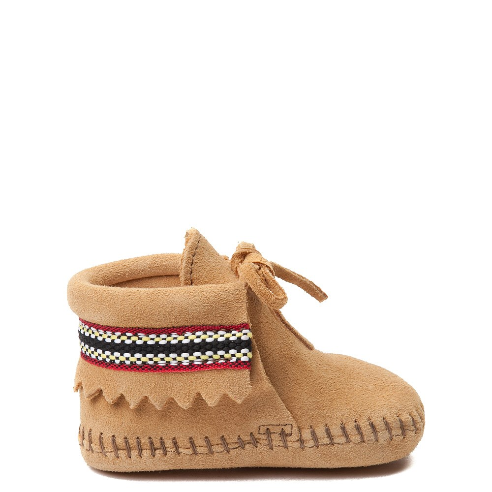 Minnetonka Braid Bootie - Baby / Toddler - Tan