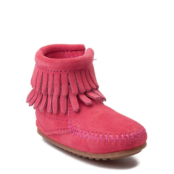 Alternate view of Minnetonka Double Fringe Bootie - Baby / Toddler
