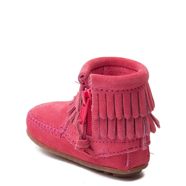 alternate view Minnetonka Double Fringe Bootie - Baby / ToddlerALT2