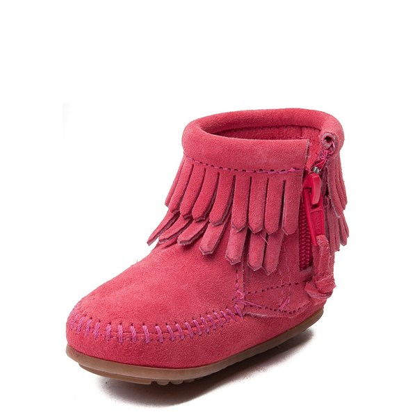alternate view Minnetonka Double Fringe Bootie - Baby / ToddlerALT3