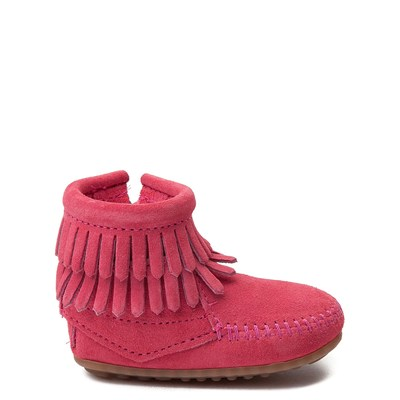 Main view of Minnetonka Double Fringe Bootie - Baby / Toddler
