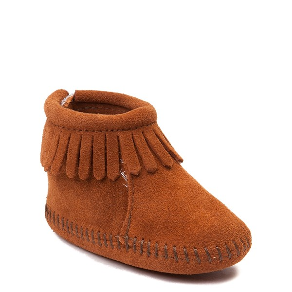 alternate view Minnetonka Back Flap Bootie - Baby / ToddlerALT1