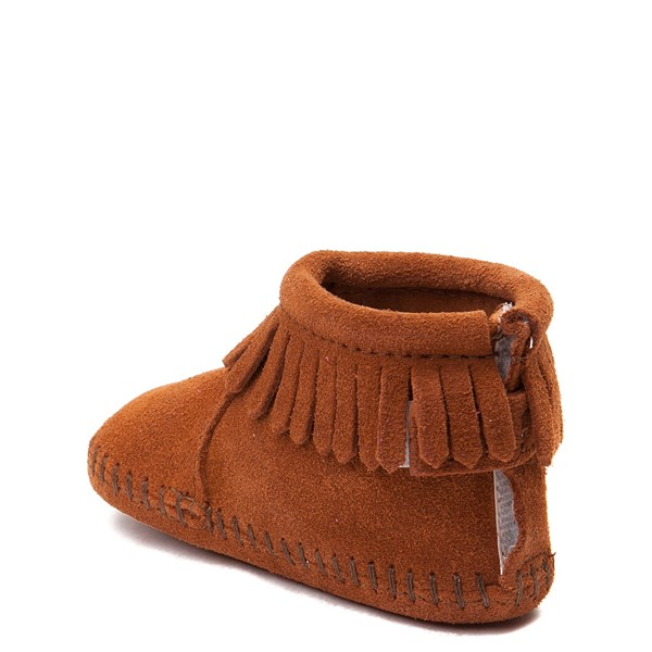 alternate view Minnetonka Back Flap Bootie - Baby / ToddlerALT2