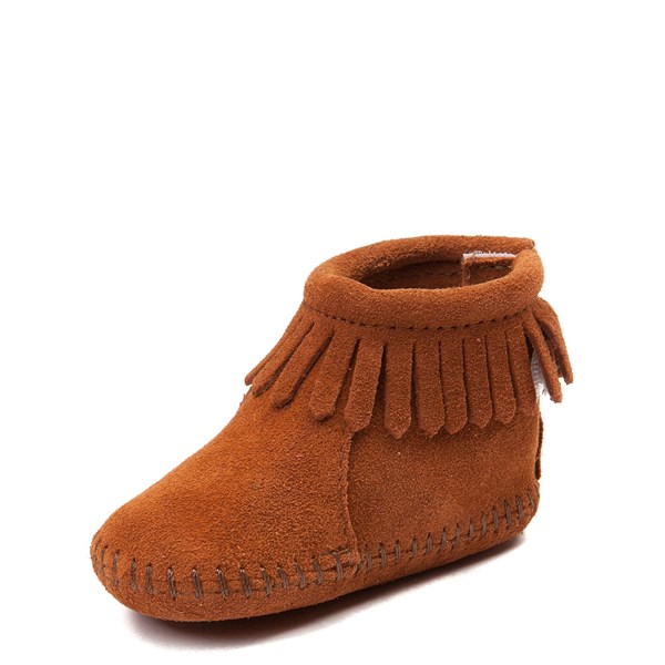alternate view Minnetonka Back Flap Bootie - Baby / ToddlerALT3