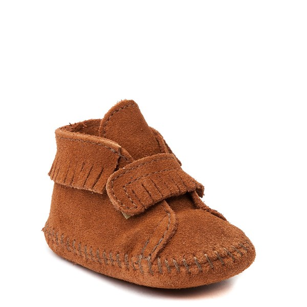 alternate view Minnetonka Front Strap Bootie - Baby / ToddlerALT1