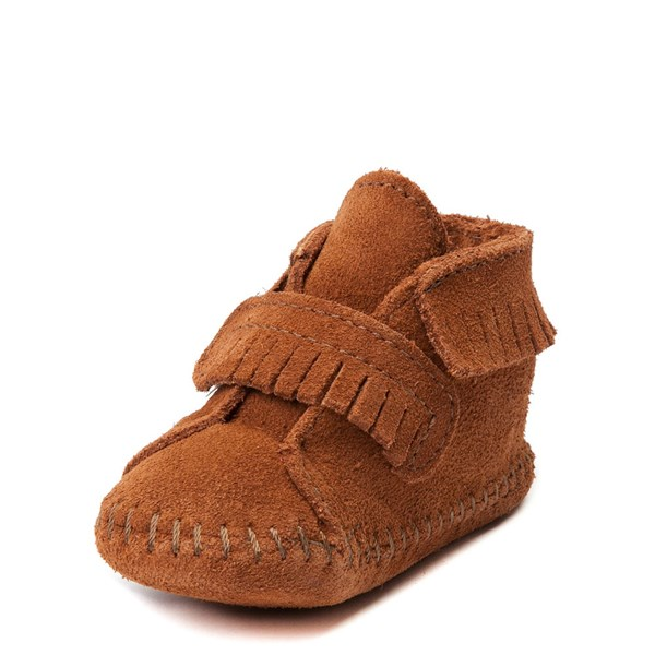 alternate view Minnetonka Front Strap Bootie - Baby / ToddlerALT3