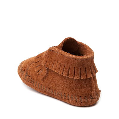 Alternate view of Minnetonka Front Strap Bootie - Baby / Toddler - Brown