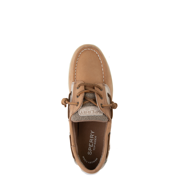 alternate view Sperry Top-Sider Songfish Boat Shoe - Little Kid / Big Kid - TanALT2