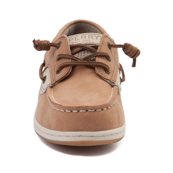 alternate view Sperry Top-Sider Songfish Boat Shoe - Little Kid / Big Kid - TanALT4