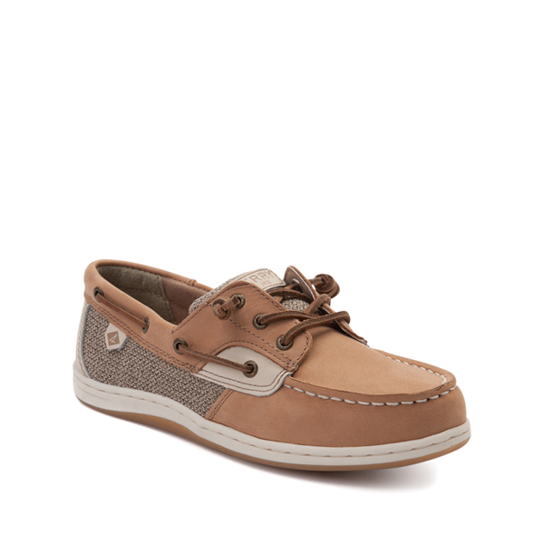 alternate view Sperry Top-Sider Songfish Boat Shoe - Little Kid / Big Kid - TanALT5