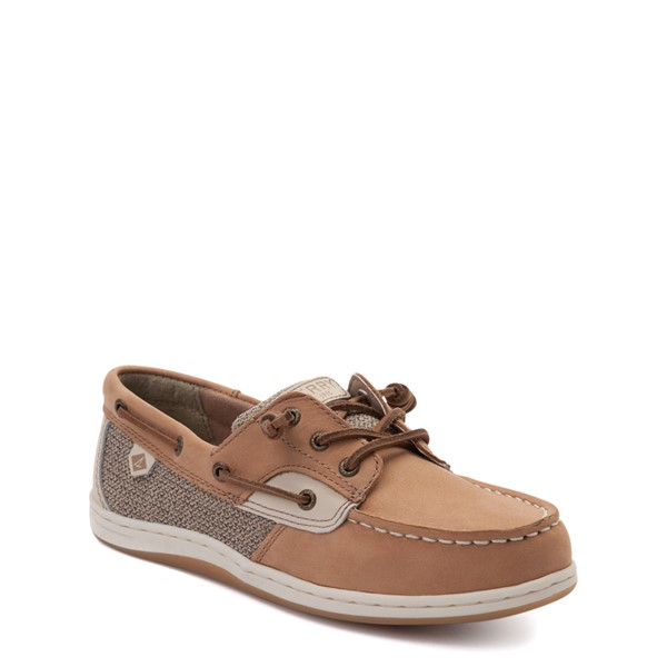 alternate view Sperry Top-Sider Songfish Boat Shoe - Little Kid / Big Kid - TanALT1