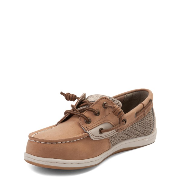 alternate view Sperry Top-Sider Songfish Boat Shoe - Little Kid / Big Kid - TanALT3