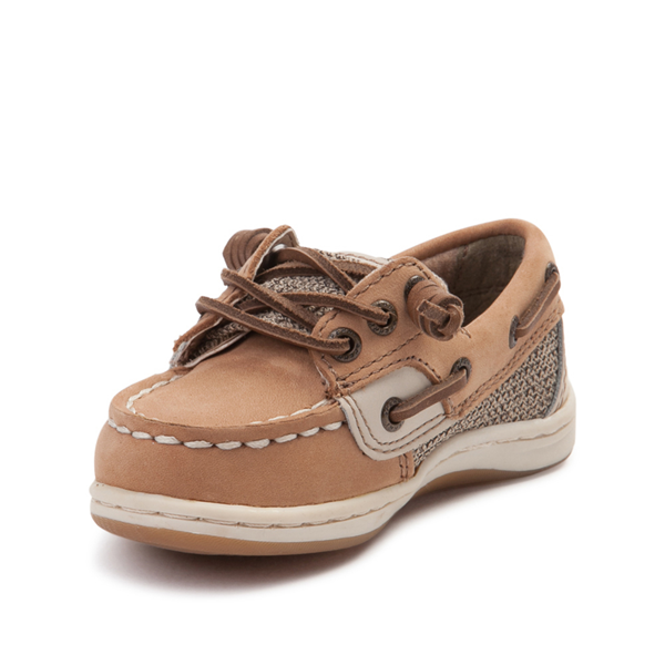 alternate view Sperry Top-Sider Songfish Boat Shoe - Toddler / Little Kid - TanALT2