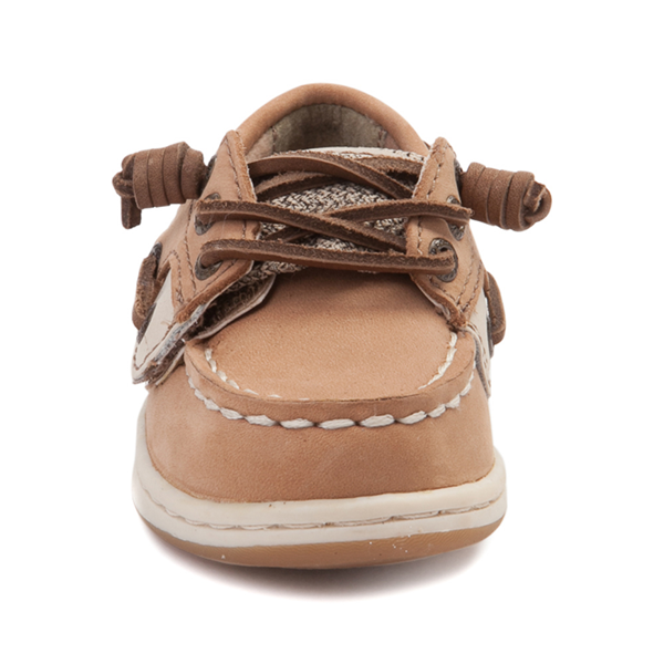 alternate view Sperry Top-Sider Songfish Boat Shoe - Toddler / Little Kid - TanALT4