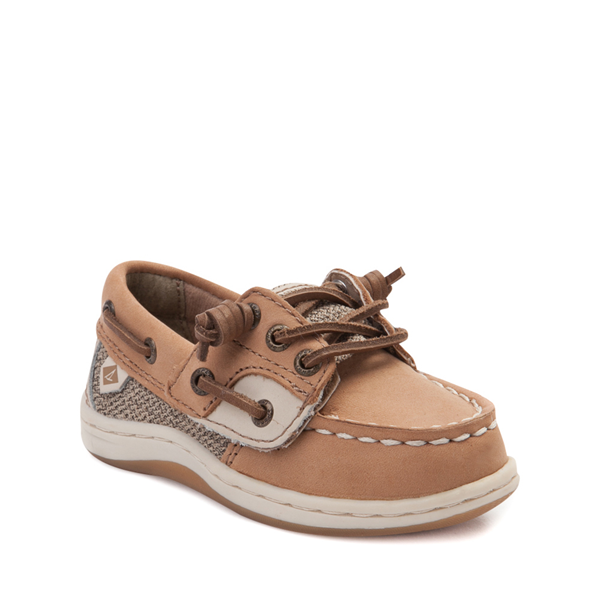 alternate view Sperry Top-Sider Songfish Boat Shoe - Toddler / Little Kid - TanALT5