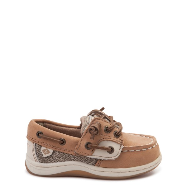 Main view of Sperry Top-Sider Songfish Boat Shoe - Toddler / Little Kid - Tan