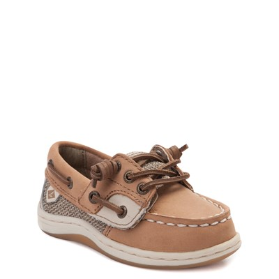Alternate view of Sperry Top-Sider Songfish Boat Shoe - Toddler / Little Kid - Tan