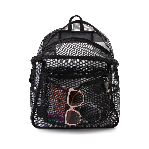 alternate view JanSport Mesh Pack Backpack - BlackALT1