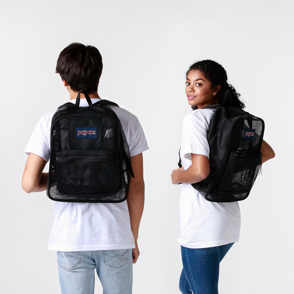 alternate view JanSport Mesh Pack Backpack - BlackALT1BADULT
