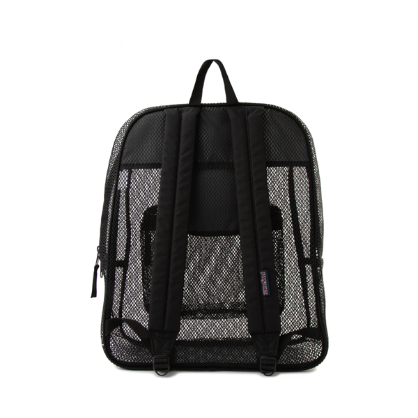 alternate view JanSport Mesh Pack Backpack - BlackALT2