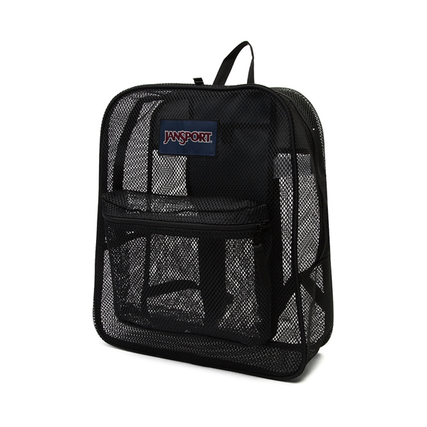 alternate view JanSport Mesh Pack Backpack - BlackALT4
