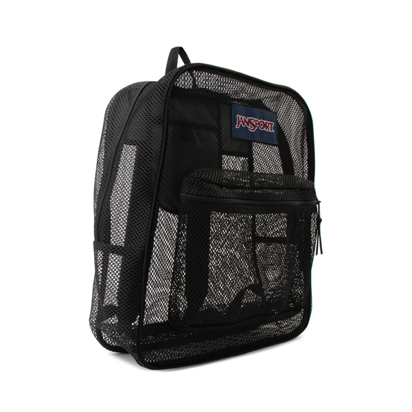 alternate view JanSport Mesh Pack Backpack - BlackALT4B
