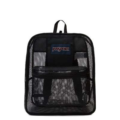 Main view of JanSport Mesh Pack Backpack - Black