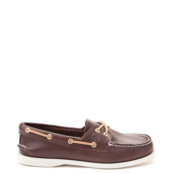Main view of Womens Sperry Top-Sider Authentic Original Boat Shoe - Brown