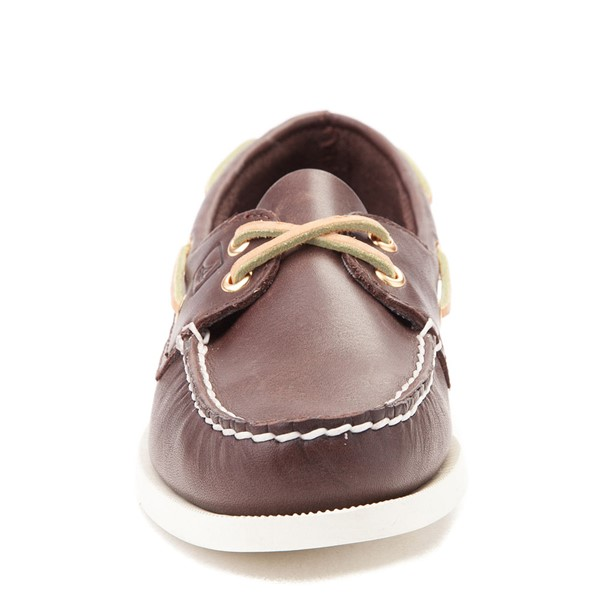 alternate view Womens Sperry Top-Sider Authentic Original Boat Shoe - BrownALT4
