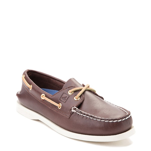 alternate view Womens Sperry Top-Sider Authentic Original Boat Shoe - BrownALT5