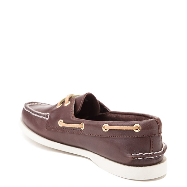 alternate view Womens Sperry Top-Sider Authentic Original Boat Shoe - BrownALT2